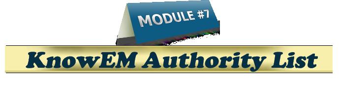 KnowEM profile creation service