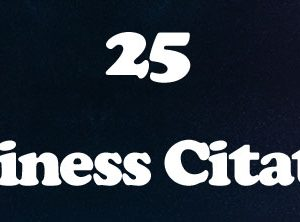 25 Business Citation