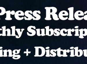 2 Press Release/Month – Subscription